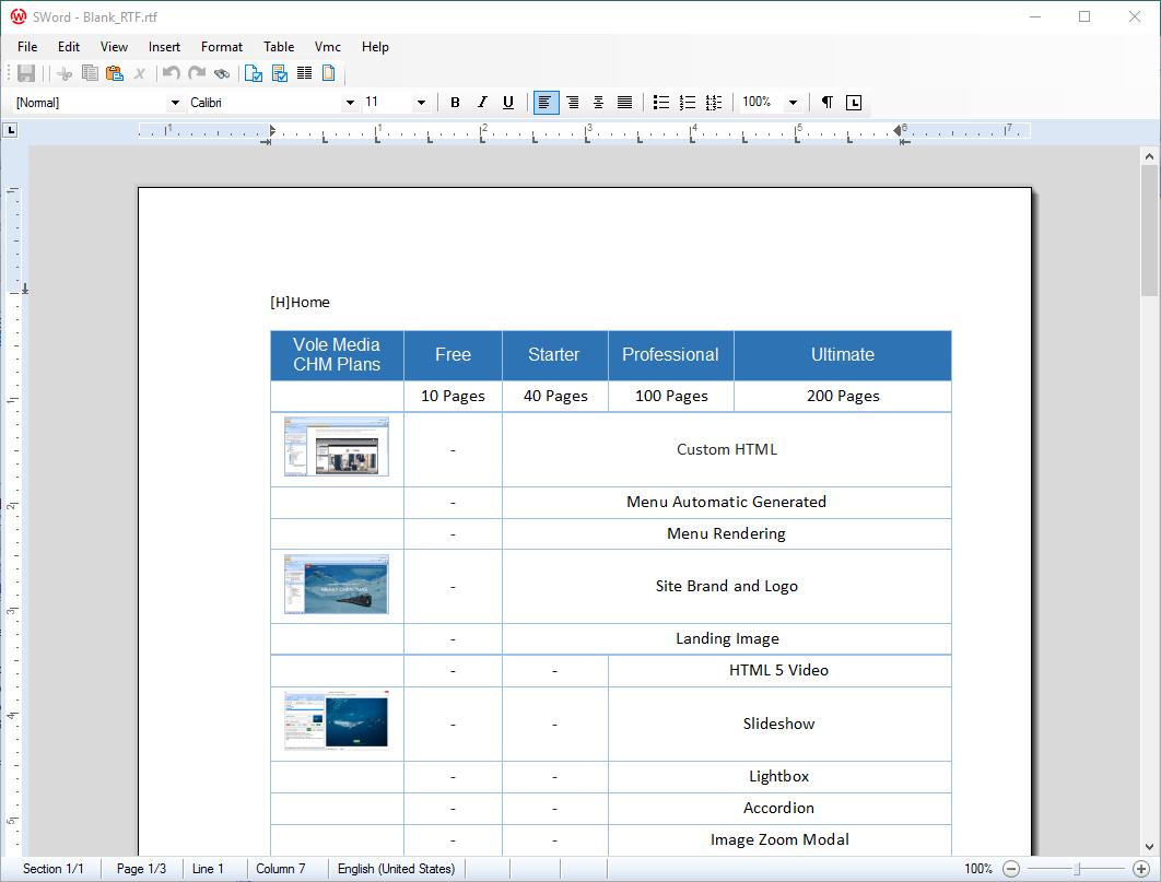 Vole PDF Creator