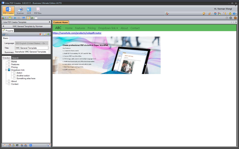 Vole PDF Creator - SANWHOLE